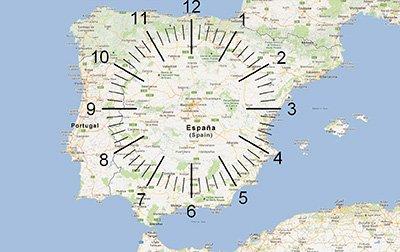 Mapa Tecnica del Reloj. Método para Memorizar